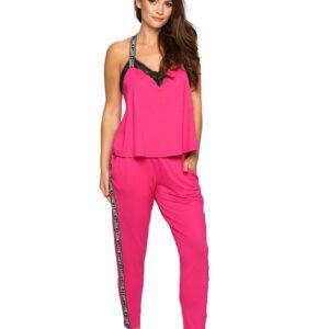 Rožnata ženska pižama Pigeon